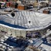 Metrodome Roof Collapses From Snowstorm (Video)