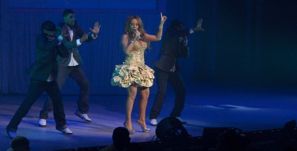 Mariah Carey Gibson Ampitheatre Los Angeles By JB Brookman Hollywood Icon Magazine