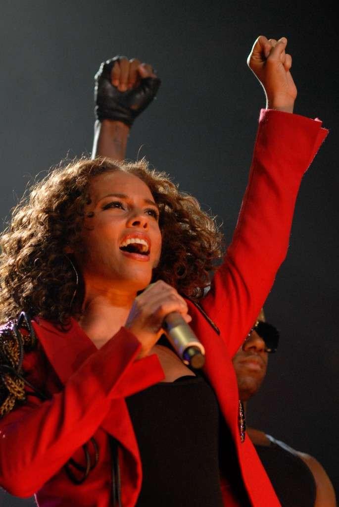 Alicia Keys Staples Center LA By JB Brookman