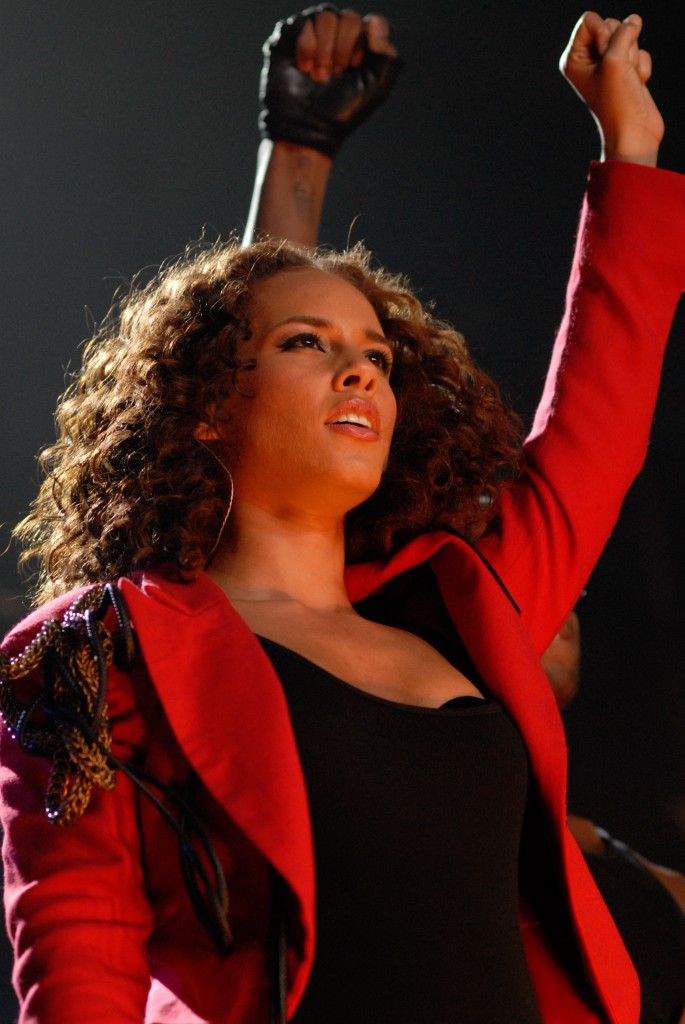Alicia Keys Staples Center LA By JB Brookman