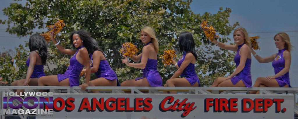 LA Lakers Championship Parade By JB Brookman-13 Laker Girls