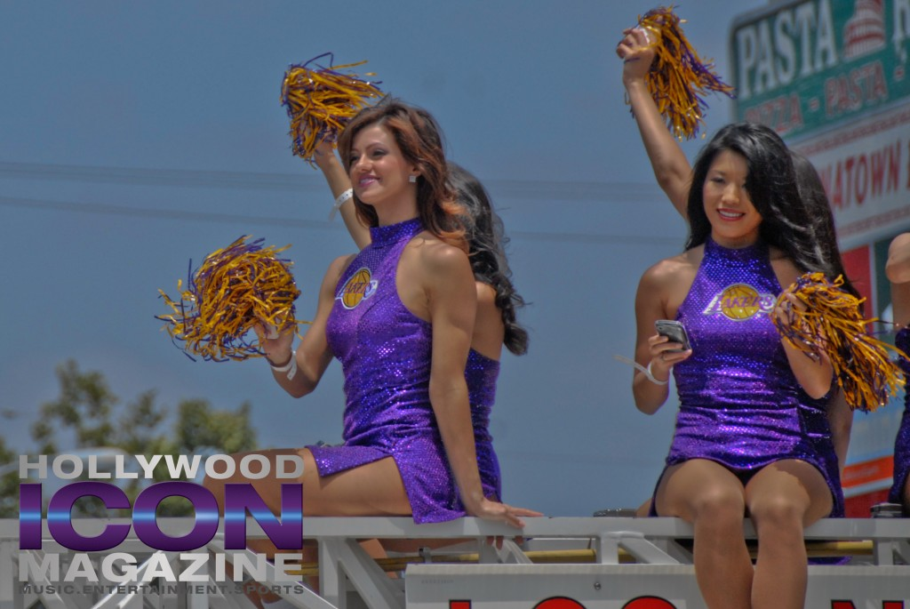 LA Lakers Championship Parade By JB Brookman-15 Laker Girls 2