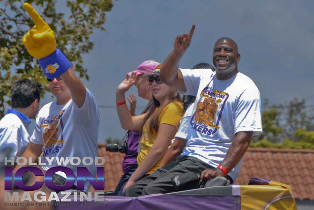 LA Lakers Championship Parade By JB Brookman-33 Magic3