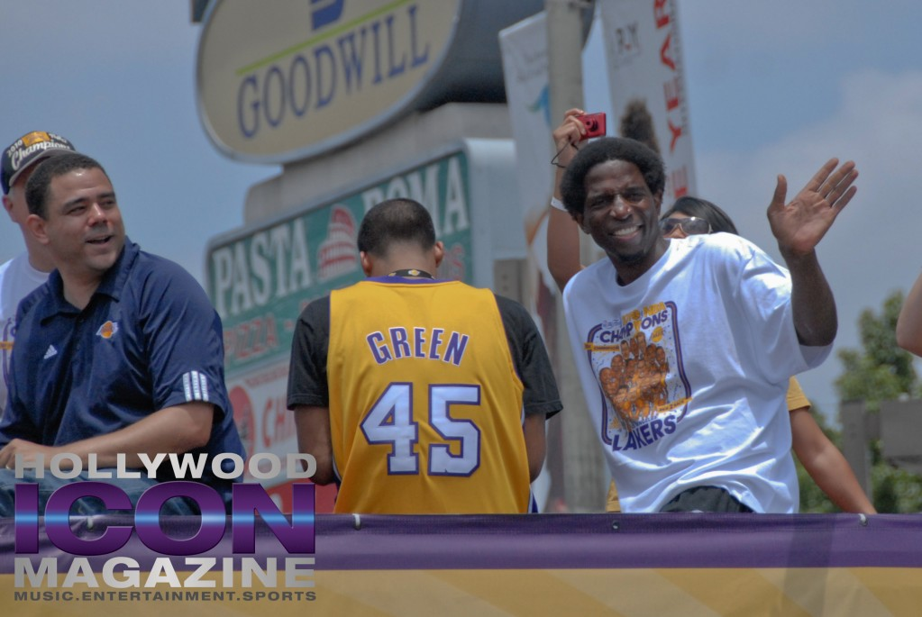 LA Lakers Championship Parade By JB Brookman-36 AC Green