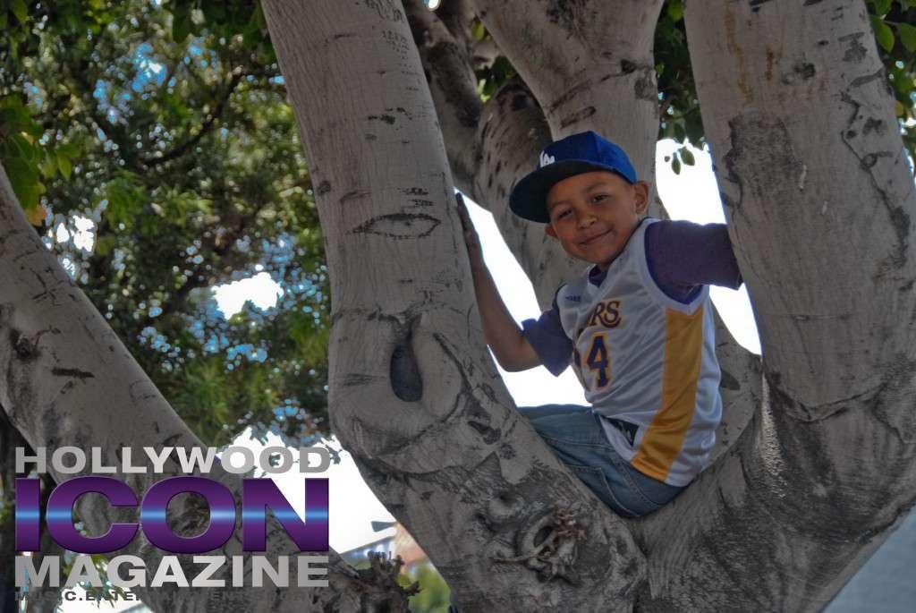 LA Lakers Championship Parade By JB Brookman-6 kid
