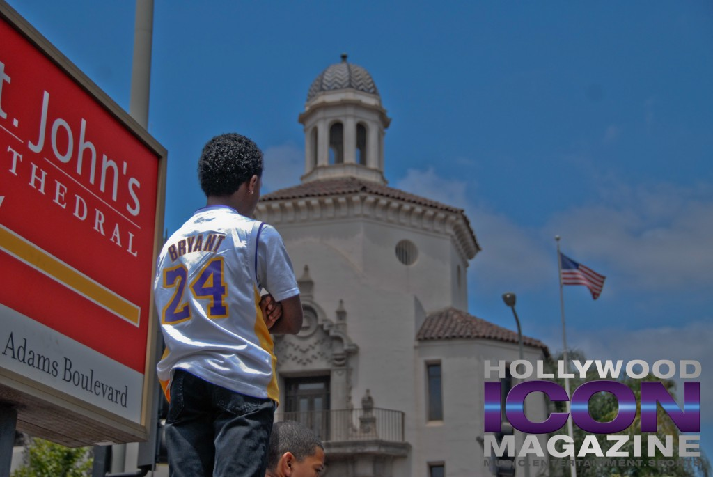 LA Lakers Championship Parade By JB Brookman-9 Kobekid