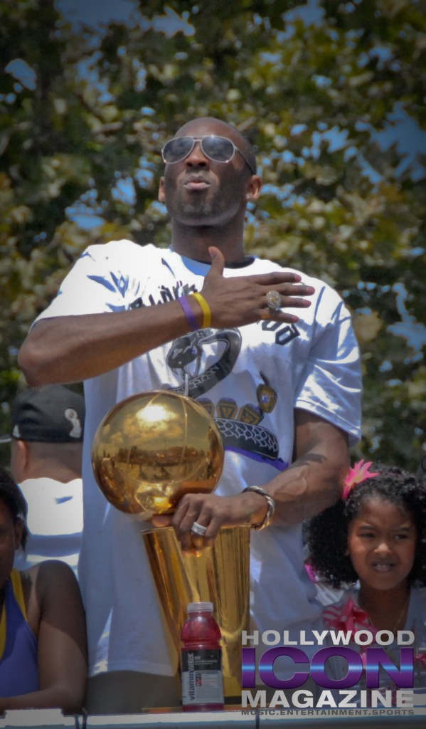 LA Lakers Championship Parade By JB Brookman-Kobe Five2