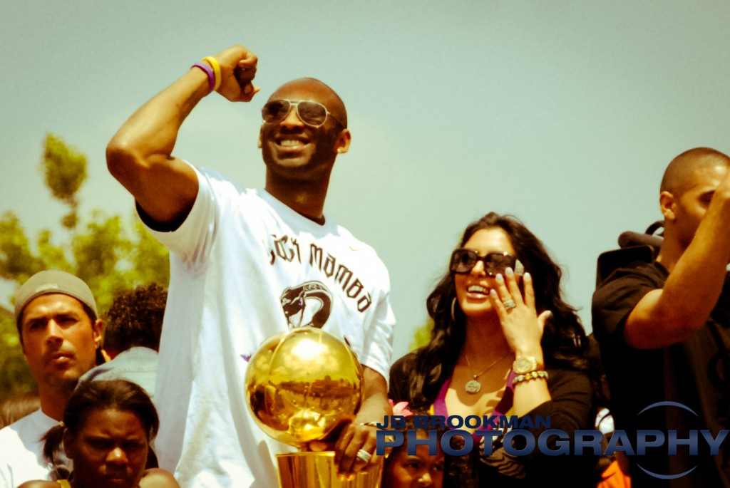 LA Lakers Championship Parade Kobe Bryant By JB Brookman-20