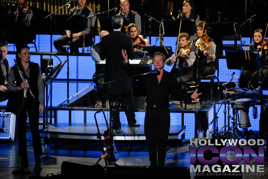 Sting w Royal Philharmonic Orchestra © JB Brookman Hollywood Icon Magazine-2 copy