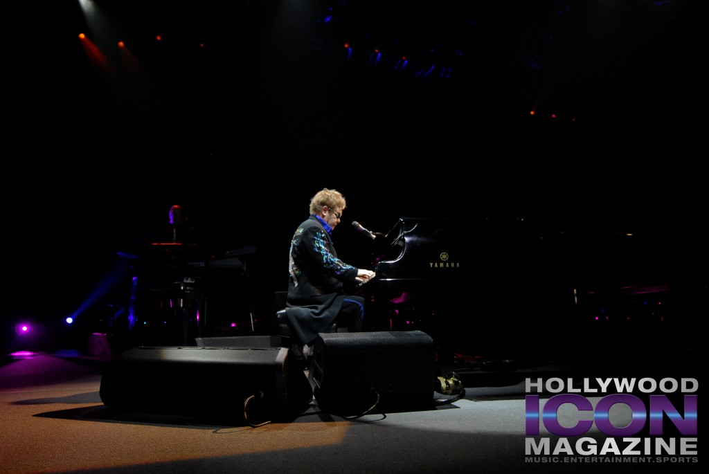 """Rocketman"" Was One Of The High Points Of A Night Filled With Excitement- Elton John At The SunDome.  Photo: JB Brookman"