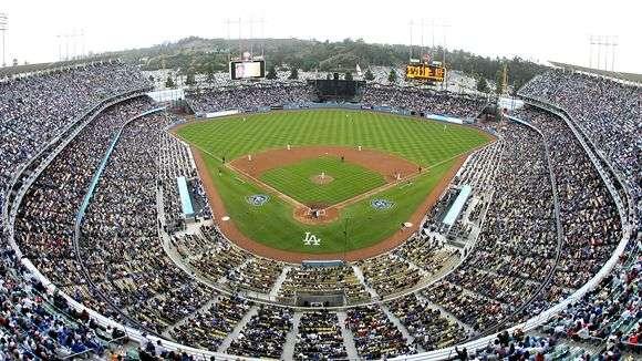 los angeles dodgers stadium. LA Dodgers Host Fundraiser For