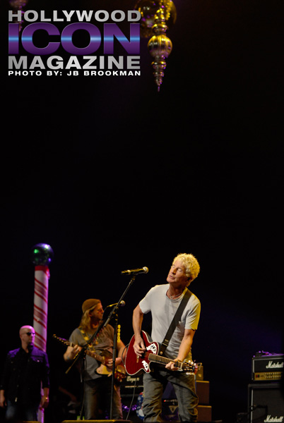 Kevin Cronin from REO Speedwagon.  Photo: JB Brookman