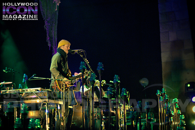 The Santa Barbara Bowl hosts Bon Iver.  Photo: JB Brookman