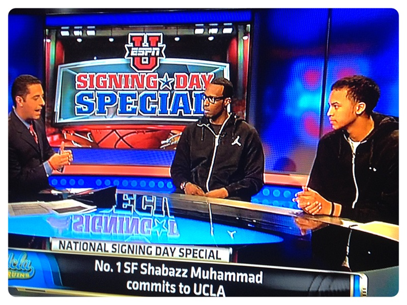Shabazz Muhammad commits to UCLA.