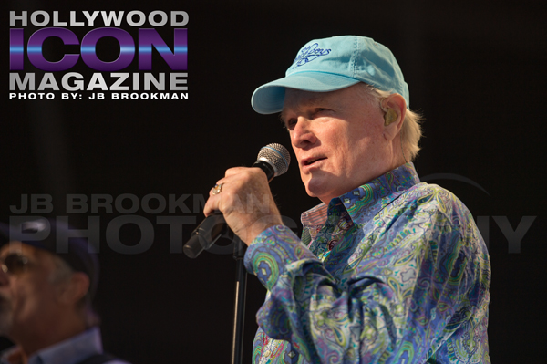 Mike Love of The Beach Boys at The Santa Barbara Bowl.  Photo: JB Brookman