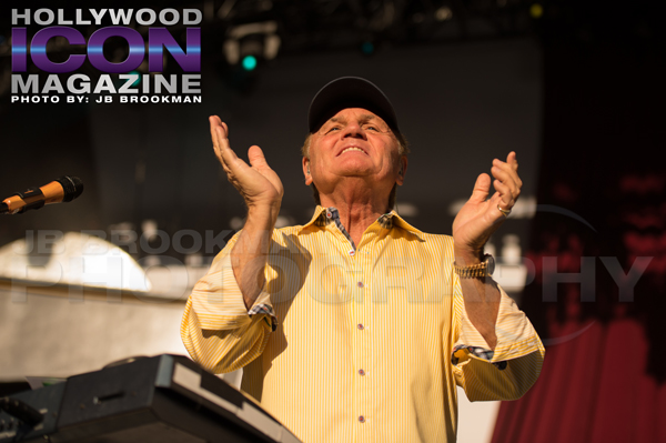 Bruce Johnston of The Beach Boys at The Santa Barbara Bowl.  Photo: JB Brookman