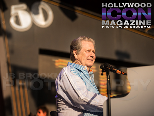 Brian Wilson plays in Santa Barbara at The Beach Boys 50th Anniversary Show.  Photo: JB Brookman