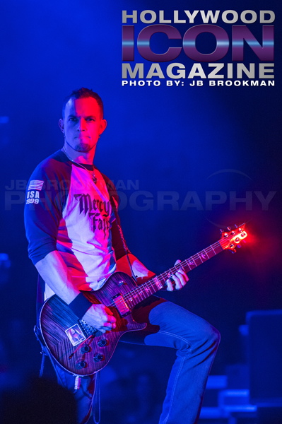 Mark Tremonti of Creed in LA.  Photo: JB Brookman