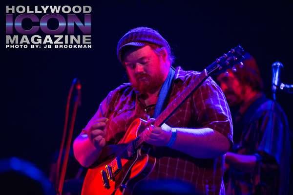 Guitarist Deren Ney in Los Angeles.  Photo: JB Brookman