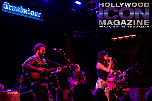 Nicki Bluhm and the Gramblers open their Summer Tour at The Troubador in LA.  Photo: JB Brookman