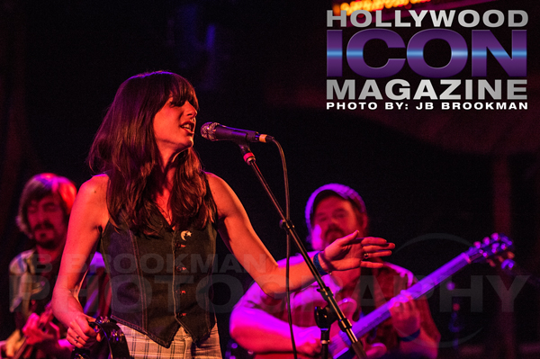 Nicki Bluhm and the Gramblers bring their blues-infused rock to The Troubador in Hollywood.  Photo: JB Brookman