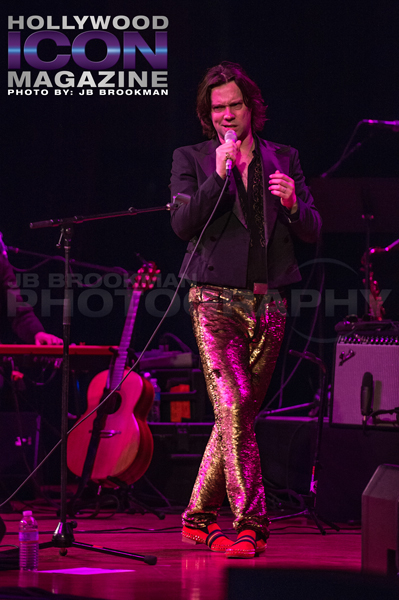 Rufus Wainwright at the historic Orpheum Theatre in Downtown LA.  Photo: JB Brookman
