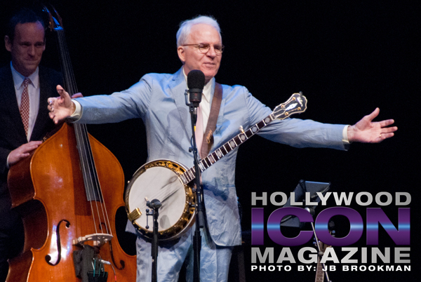 Steve Martin thrills the Granada Theatre crowd.  Photo: JB Brookman