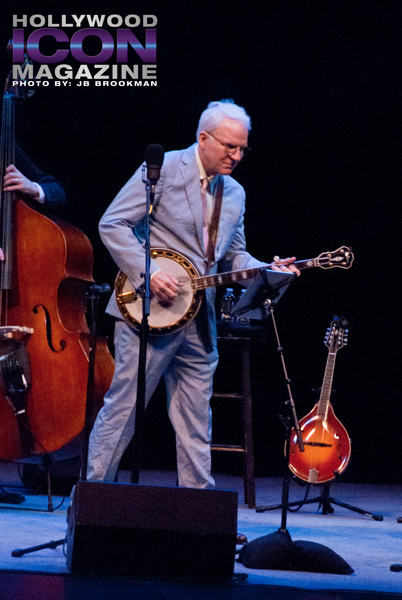 Steve Martin and the Steep Canyon Rangers.  Photo: JB Brookman