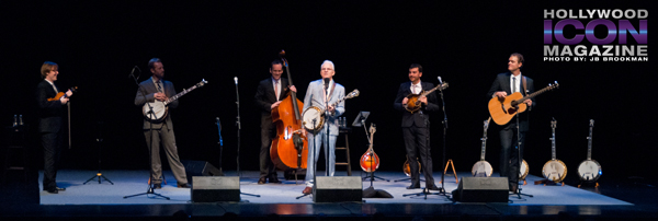 Bluegrass in Santa Barbara with Steve Martin and the Steep Canyon Rangers.  Photo: JB Brookman
