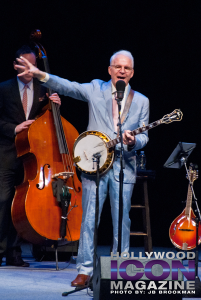 Steve Martin had the Granada Theatre crowd in stitches with his comic flair.  Photo: JB Brookman