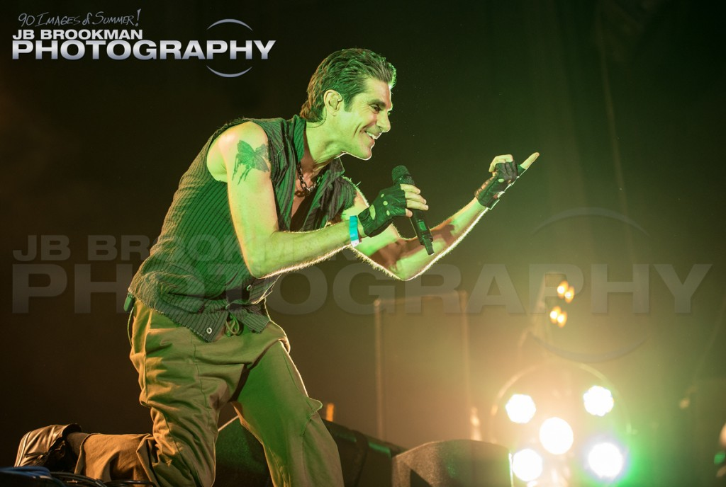 Perry Ferrell and Janes Addiction come to the Santa Barbara Bowl, this October.  Photo: JB Brookman