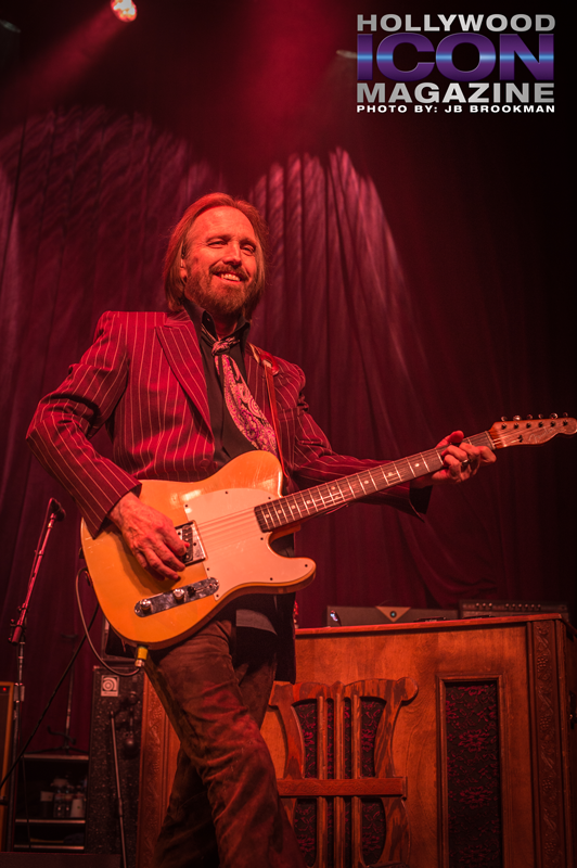 Tom Petty & The Heartbreakers at Hollywood's Fonda Theatre.  Photo: JB Brookman