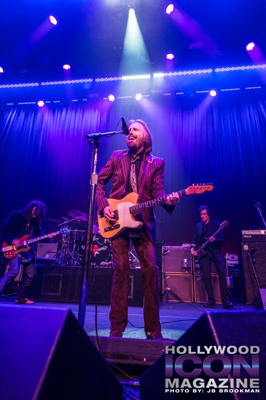Tom Petty & The Heartbreakers at Hollywood's Fonda Theatre.  Photo: JB Brookman