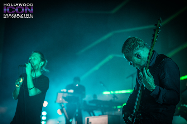 Thom Yorke from Atoms For Peace rock the Santa Barbara Bowl.  Photo: JB Brookman
