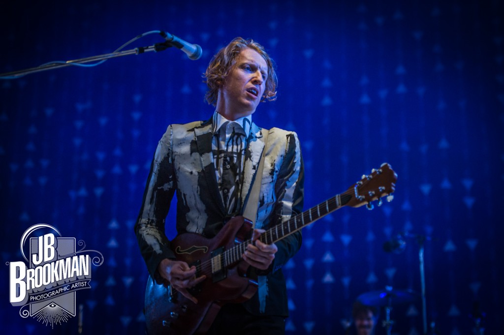 Arcade Fire at the Santa Barbara Bowl.  Photo: John David Portraits