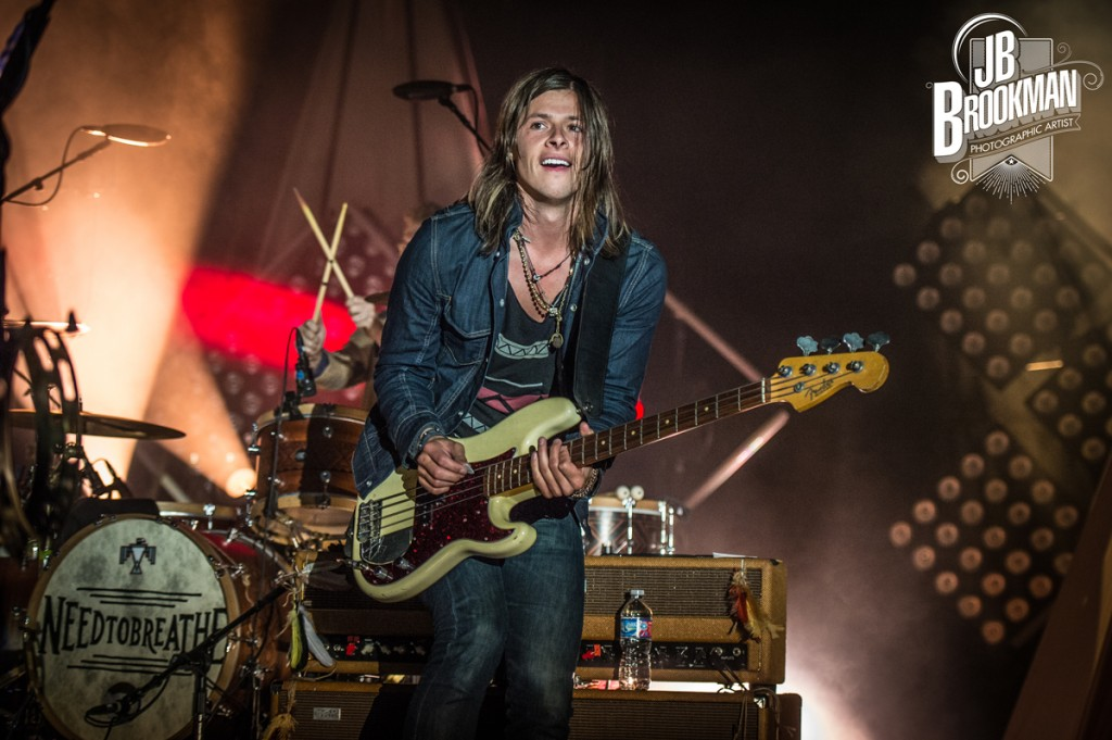 NEEDTOBREATHE in Nashville (The Woods at Fontanel).  Photo: JB Brookman